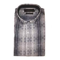 Parkson - Ble05Blue - Casual Semi Formal Checks Shirts Premium Blended Cotton WRINKLE FREE