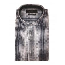 Parkson - Ble05Blue - Casual Semi Formal Checks Shirts Premium Blended Cotton WRINKLE FREE