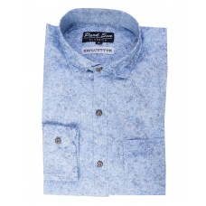Parkson - COT13Blue Casual Digital Printer Shirts for Fancy Ware 100% Cotton Shirts