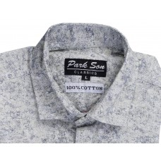 Parkson - COT13Grey Casual Digital Printer Shirts for Fancy Ware 100% Cotton Shirts