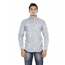 Parkson - COT16Grey Casual Digital Printer Shirts for Fancy Ware 100% Cotton Shirts