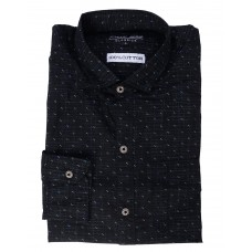 Parkson - COT17Black Casual Digital Printer Shirts for Fancy Ware 100% Cotton Shirts