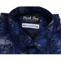 Parkson - COTO2BLUE Casual Digital Printer Shirts for Fancy Ware 100% Cotton Shirts