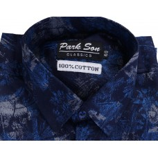 Parkson - COTO2BLUE Casual Digital Printer Shirts for Fancy Ware 100% Cotton Shirts