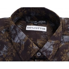 Parkson - COTO2MUSTARD Casual Digital Printer Shirts for Fancy Ware 100% Cotton Shirts