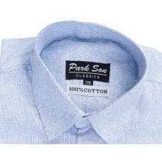 Parkson - COT06LiBlue Casual Digital Printer Shirts for Fancy Ware 100% Cotton Shirts