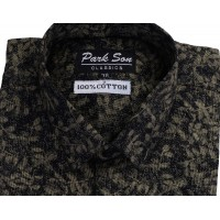 Parkson - COT07Gold Casual Digital Printer Shirts for Fancy Ware 100% Cotton Shirts