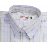 Radhes -AMBMus  FORMAL Office Wear Shirts WRINKLE FREE Checks Shirts Everyday Wear