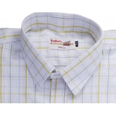 Radhes -AMBMus  FORMAL Office Wear Shirts WRINKLE FREE Checks Shirts Everyday Wear