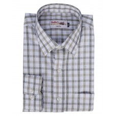 Radhes -SC01Bro  FORMAL Office Wear Shirts WRINKLE FREE Checks Shirts Everyday Wear